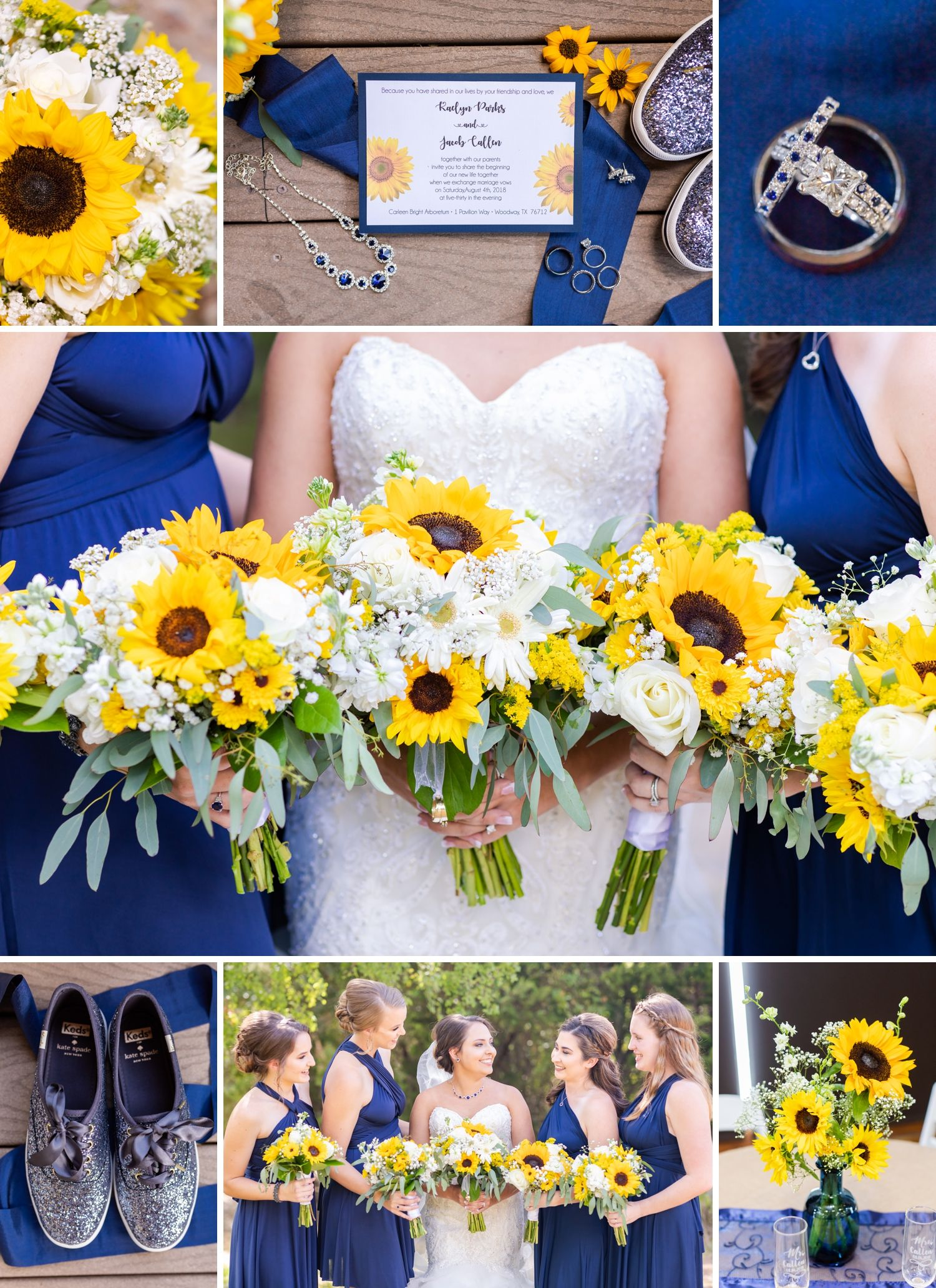 Wedding at Carleen Bright Arboretum   Kaelyn & Jacob  Dawn Elizabeth Studios
