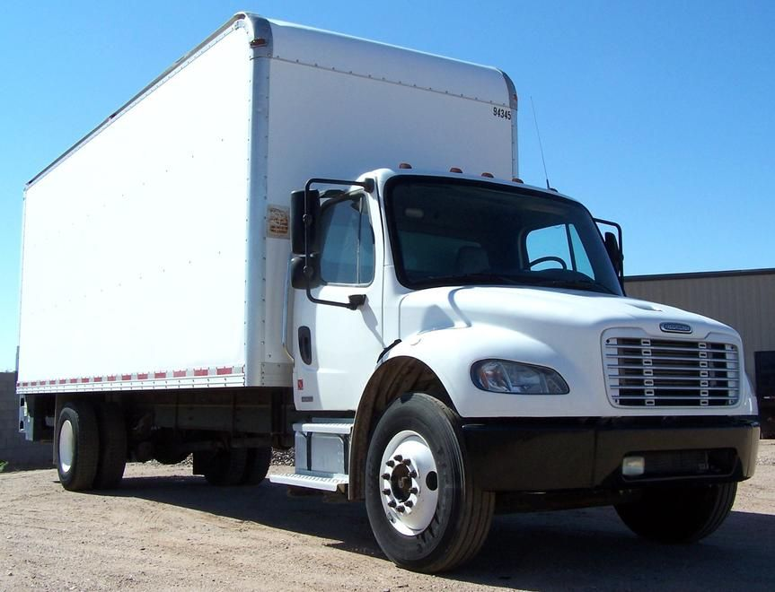 2004 Freightliner Box Truck For Sale In Phoenix Az We Specialize In Low Usage Municipality Utility Government And Fleet Trucks For Sale Freightliner Trucks