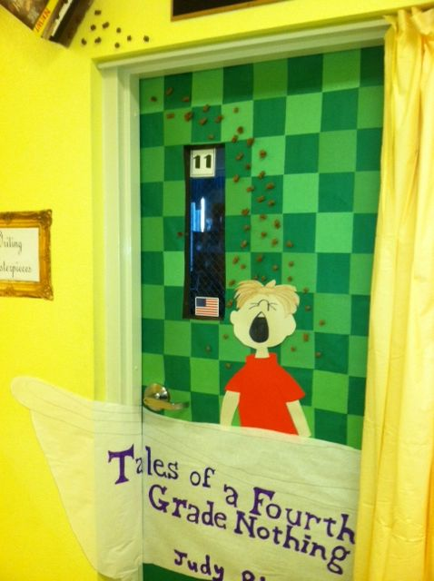 Tales Of A Fourth Grade Nothing Door Decoration Reading