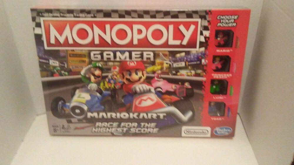 Monopoly Gamer Mario Kart NEW UNOPENED Nintendo Hasbro