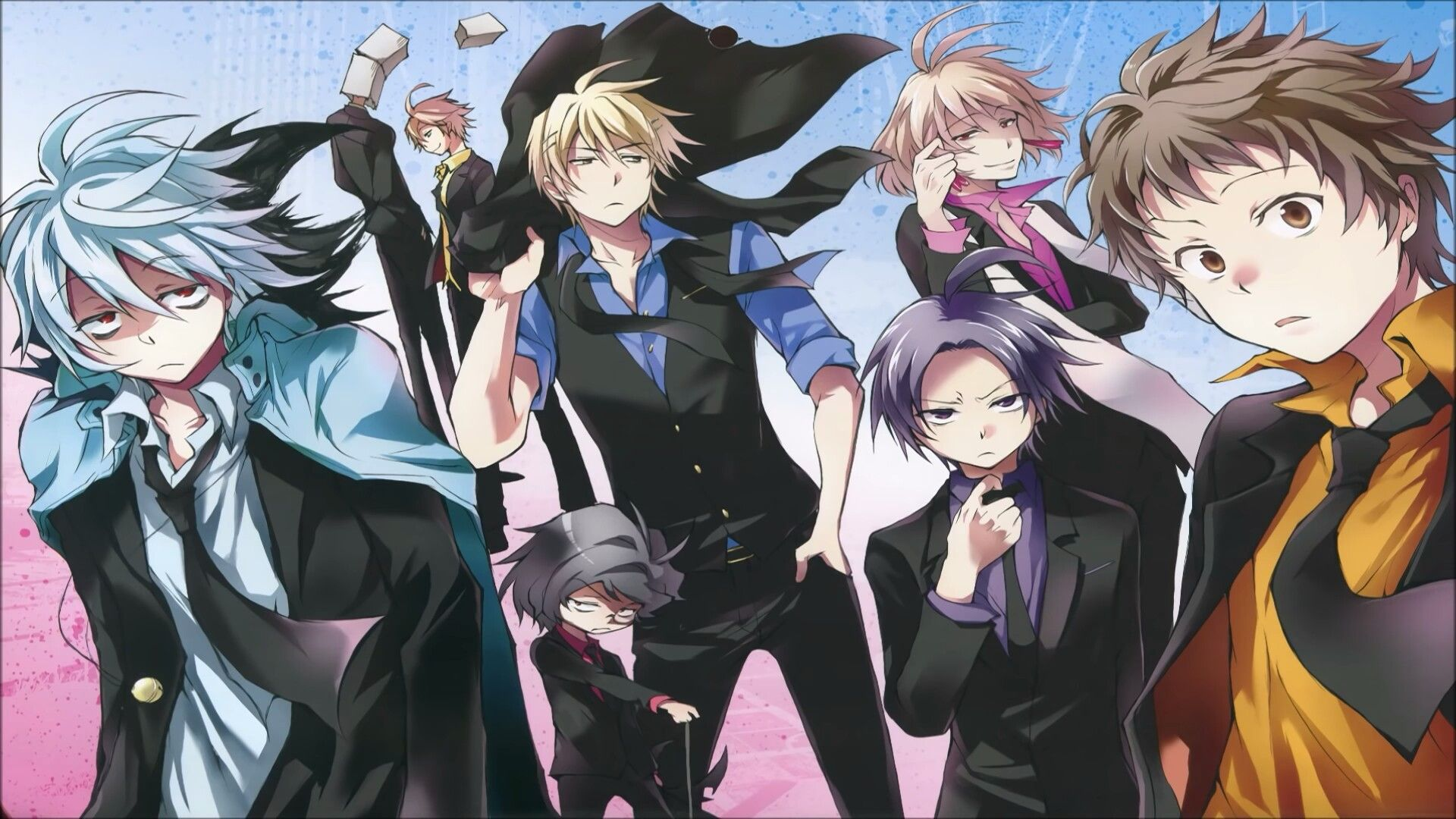 servamp Anime, Manga anime, Anime characters