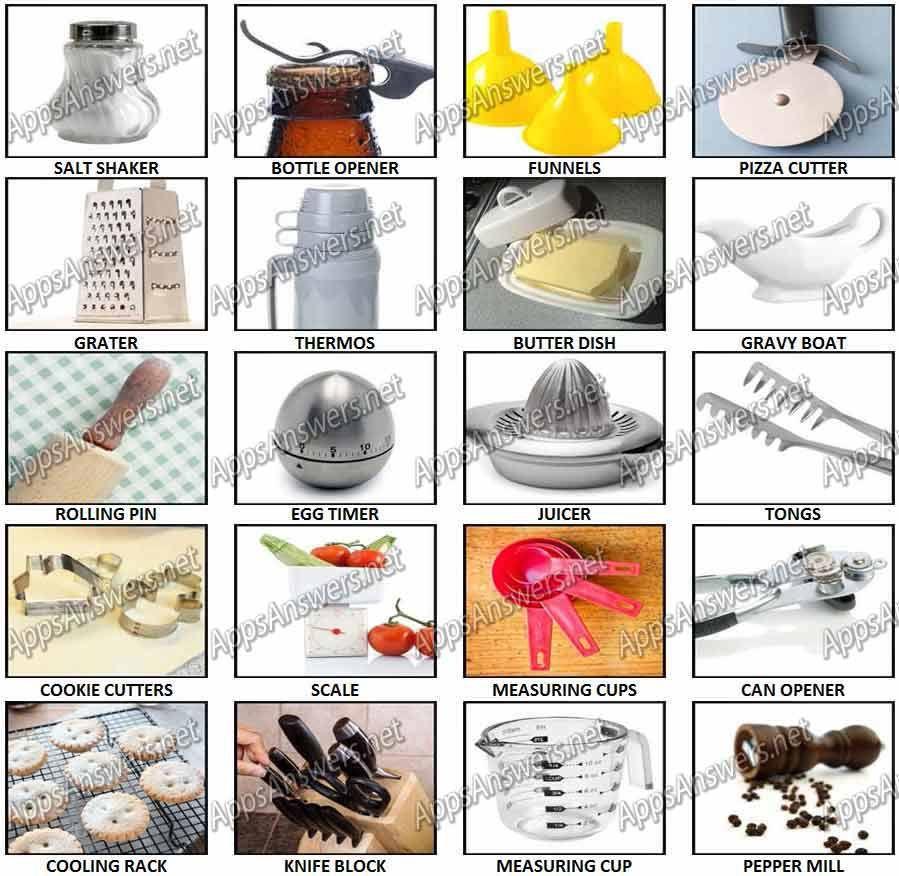 Kitchen Utensils Quiz 100 Pics Kitchen Gadgets Pinterest