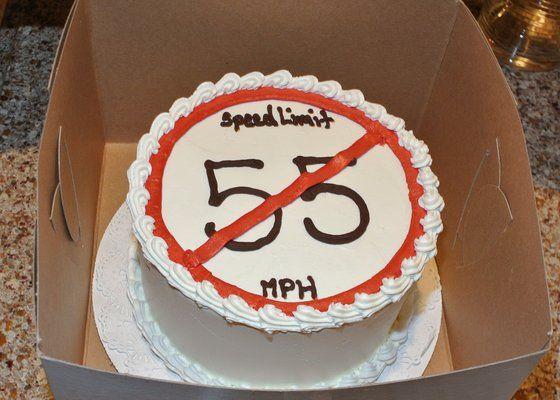 I Can T Drive 55 Sammy Hagar Cake Birthday Party 70th