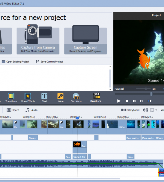 Avs Video Editor Is A Full Featured Editor For High Quality Video Creation Video Editor Video Editing Software Easy Video Editing