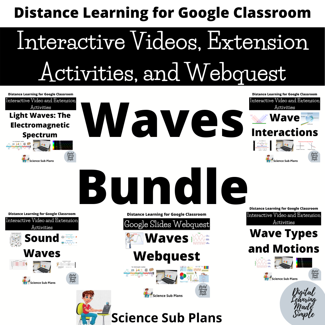 2 Full Weeks Of Teacher Resources Included This Waves