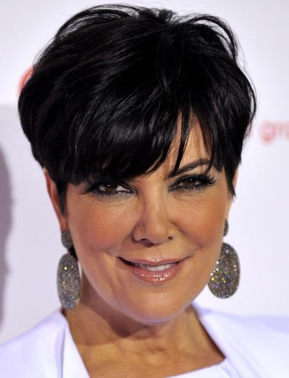 Enjoyable Kris Jenner Haircut Kris Jenner Reveals Regret About Not Saving Hairstyles For Women Draintrainus