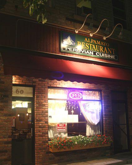 Alpamayo Restaurant Peruvian Cuisine Lee Ma Berkshires Machusetts