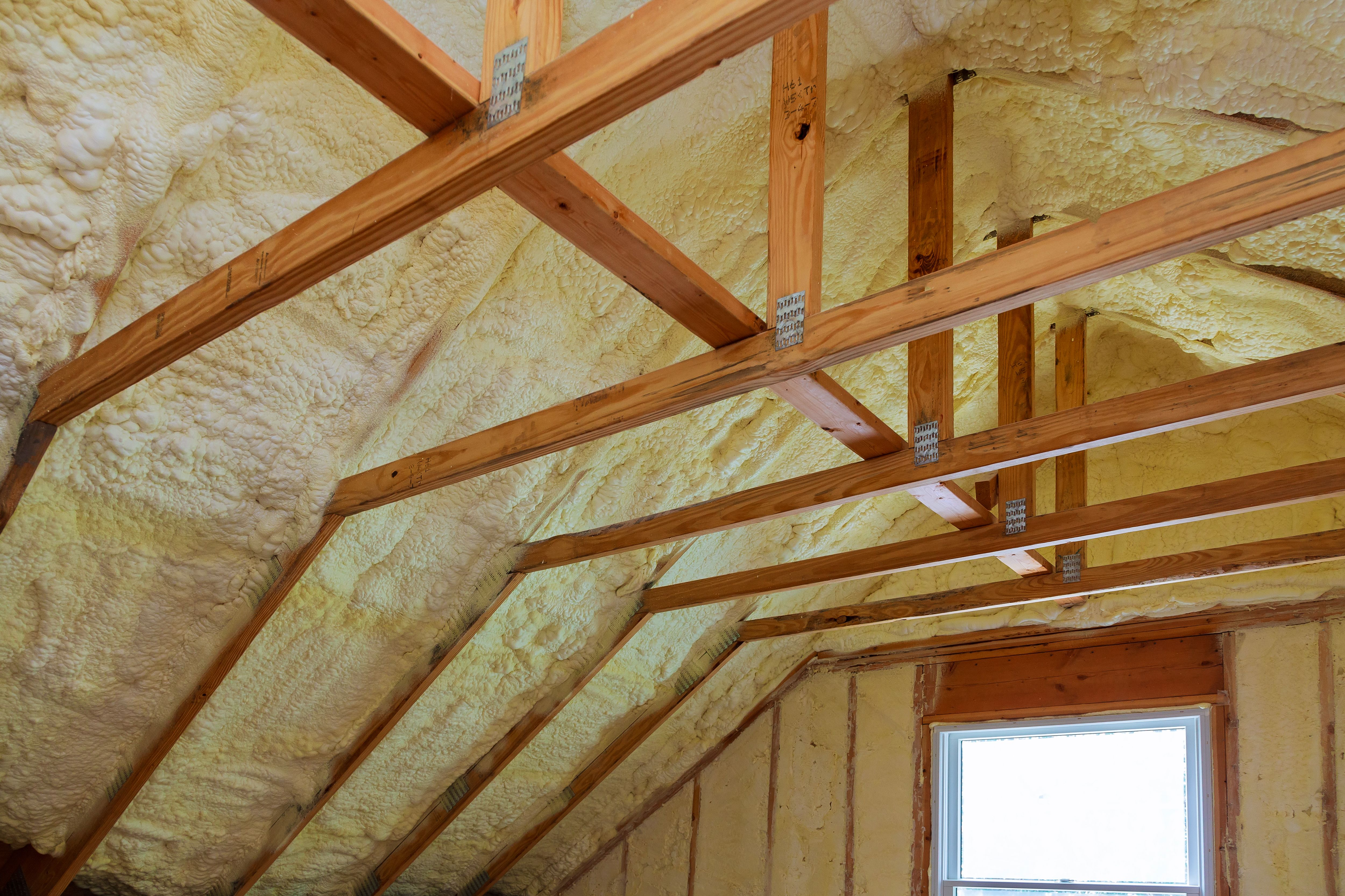 Finishing An Attic What You Need To Know Before You Start Hunker Finished Attic Roof Trusses Roof Truss Design