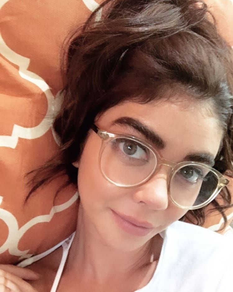 We Love Seeing Celebrities Wear Our Glasses You Can Also Check Out How Each Person Looks On Them Sarah Hyland Is Rocking These Celebrities Glassesusa Celebs