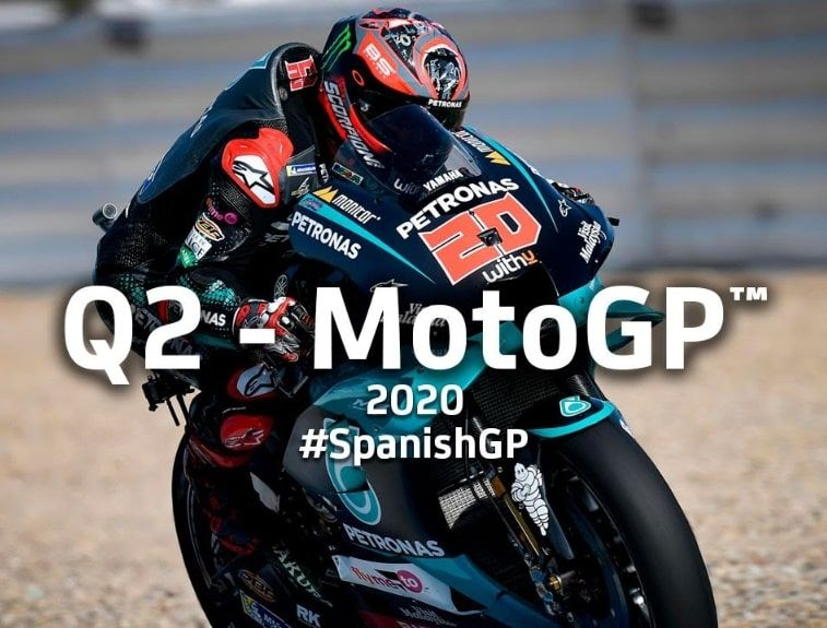 Jerez MotoGP results Quartararo ends up winning, Marquez