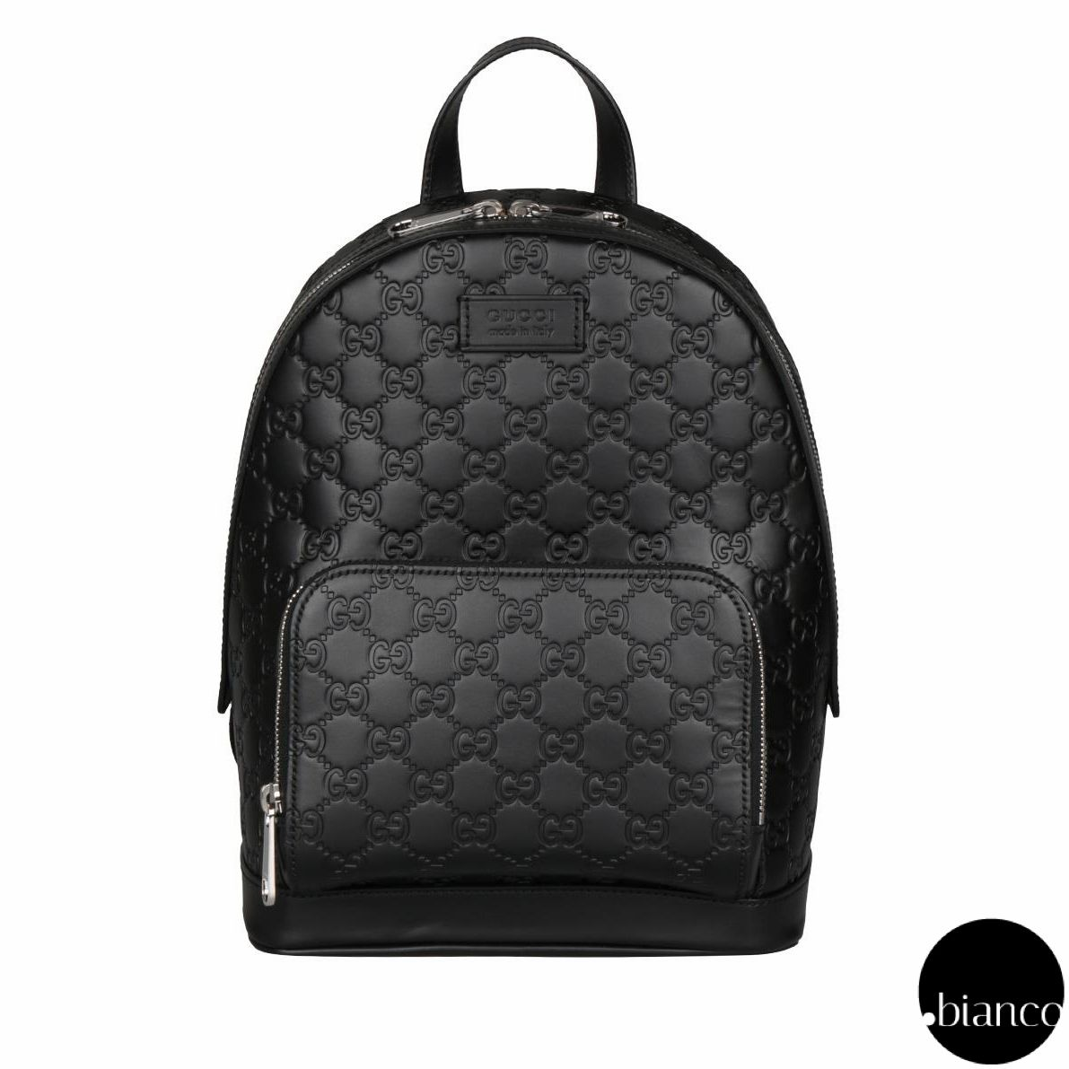 38a16bbdb0bb12 GUCCI Backpacks Monoglam Unisex A4 Leather Backpacks 3 | LAST CALL.