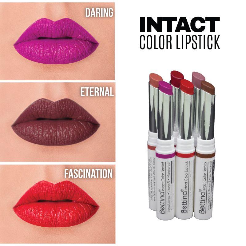 Cuéntanos... ¿Cuál color prefieres? Todos son parte de la línea #Bettina Intact Color #Lipstick y están disponibles en 8 colores...