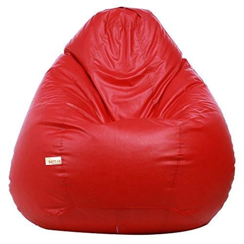 Admirable Sattva Xxxl Bean Bag Red In 2019 Bean Bag Refill Onthecornerstone Fun Painted Chair Ideas Images Onthecornerstoneorg