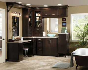 Outstanding Cabinets Aristokraft Sarsaparilla For The Home Interior Design Ideas Clesiryabchikinfo