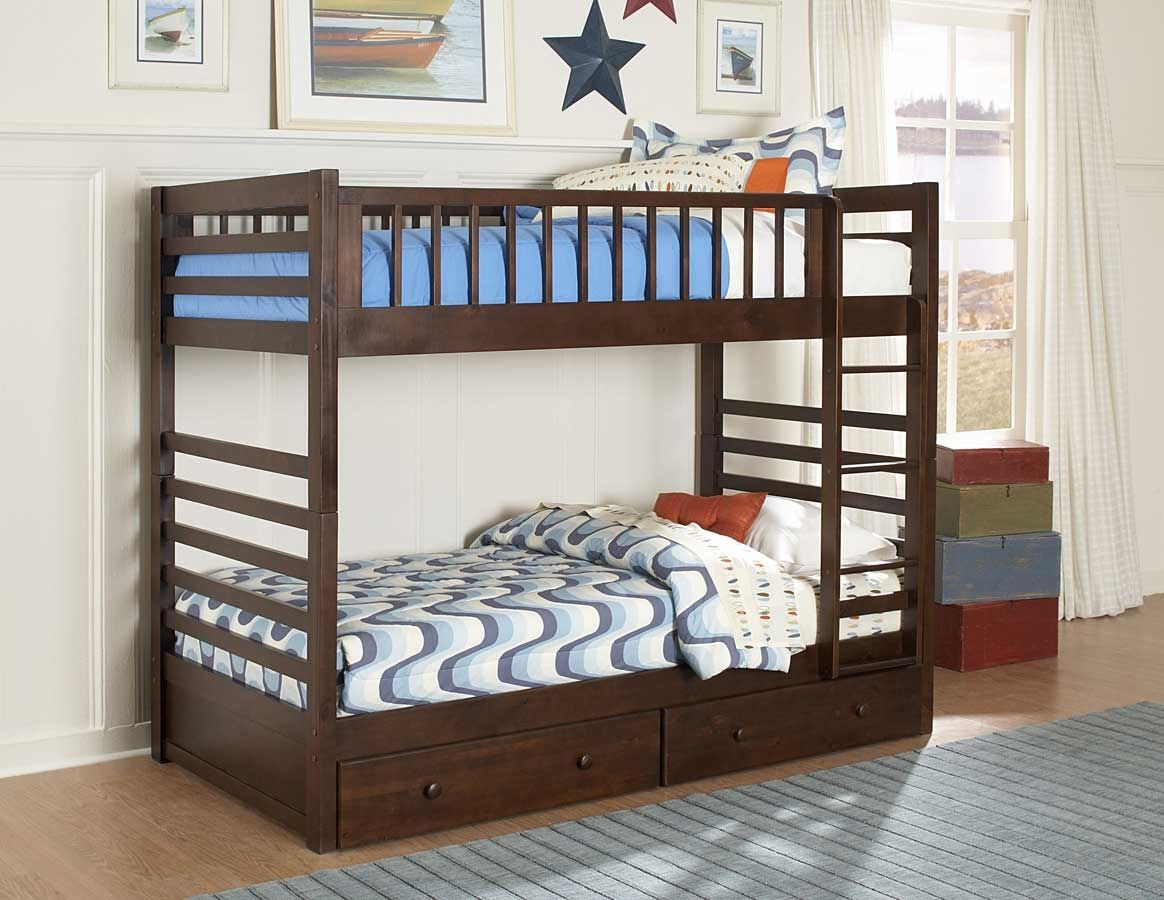 Twin Bunk Bed With Storage Drawers | //ezserver.us | Pinterest ...