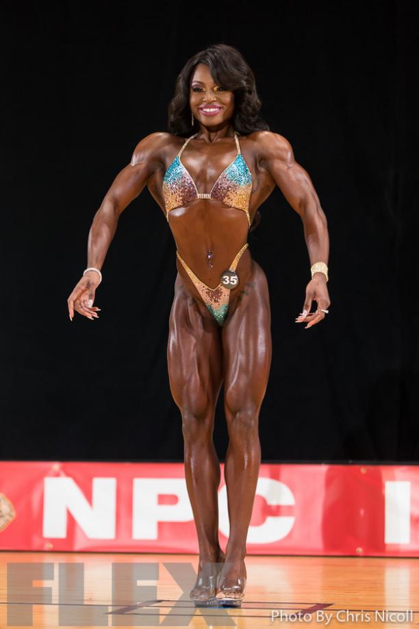 Cydney Gillon Figure 2016 Pittsburgh Pro Muscle Fitness Pittsburgh Bikinis