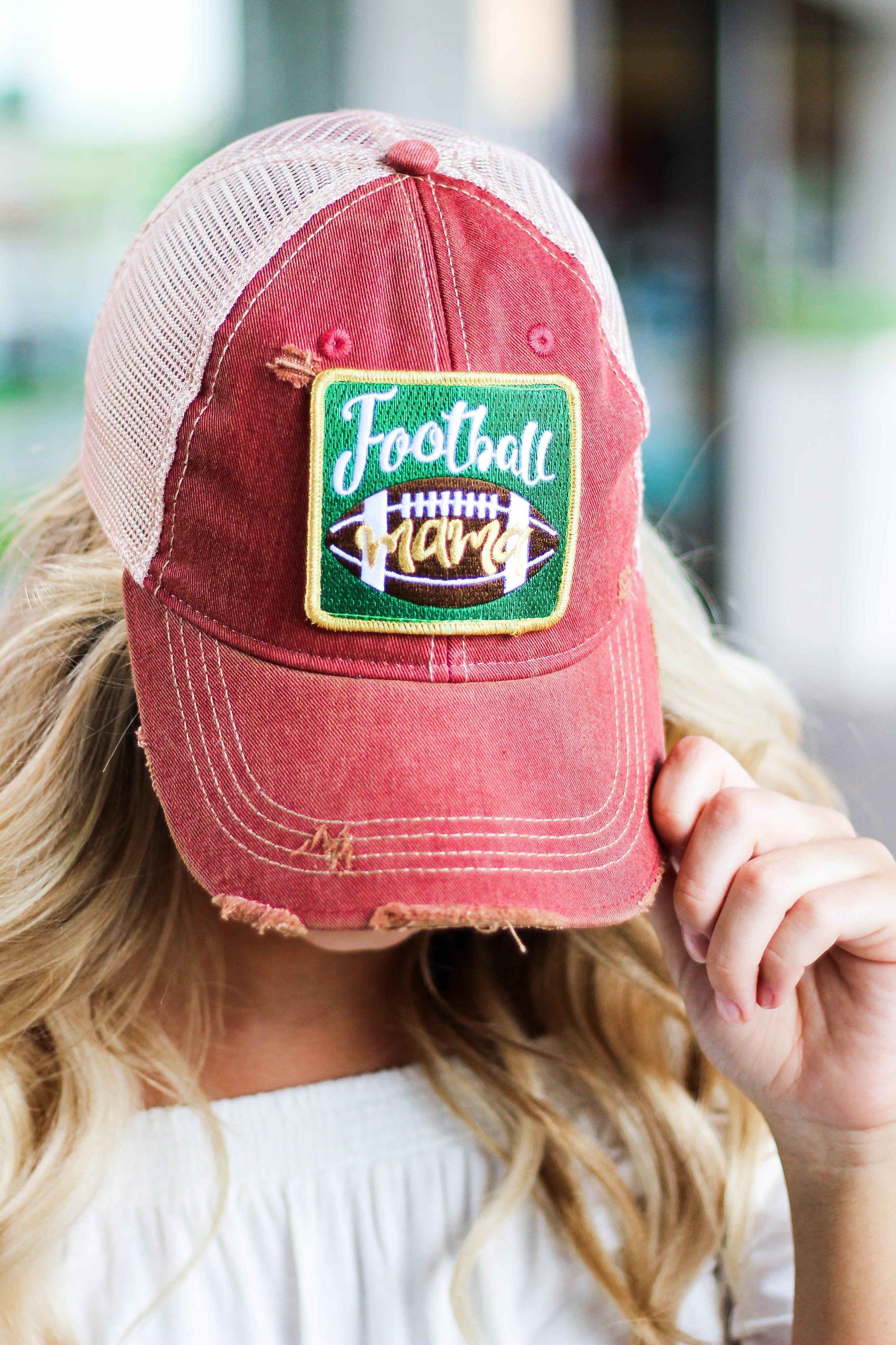 f1031e5ef4f JUDITH MARCH Football Mama Hat