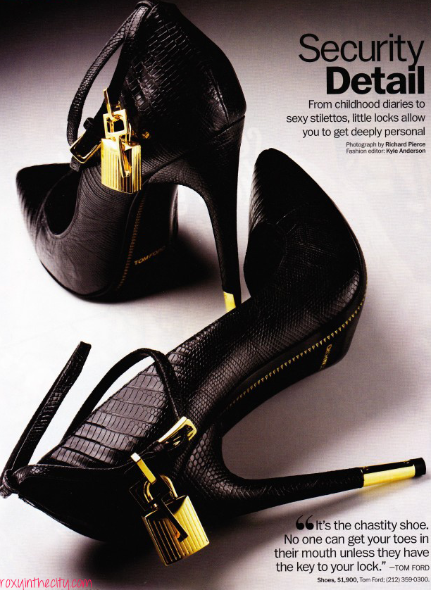 ca3d02b4cb Lusting after the Tom Ford Chastity Shoe | Style | Shoes, Tom ford ...