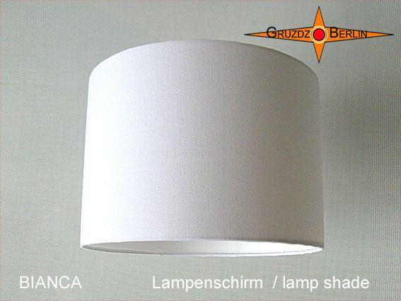 lampenschirm bianca d 30 cm in feinem wei em leinen sehr berzeugend lampenschirme 30 bis. Black Bedroom Furniture Sets. Home Design Ideas