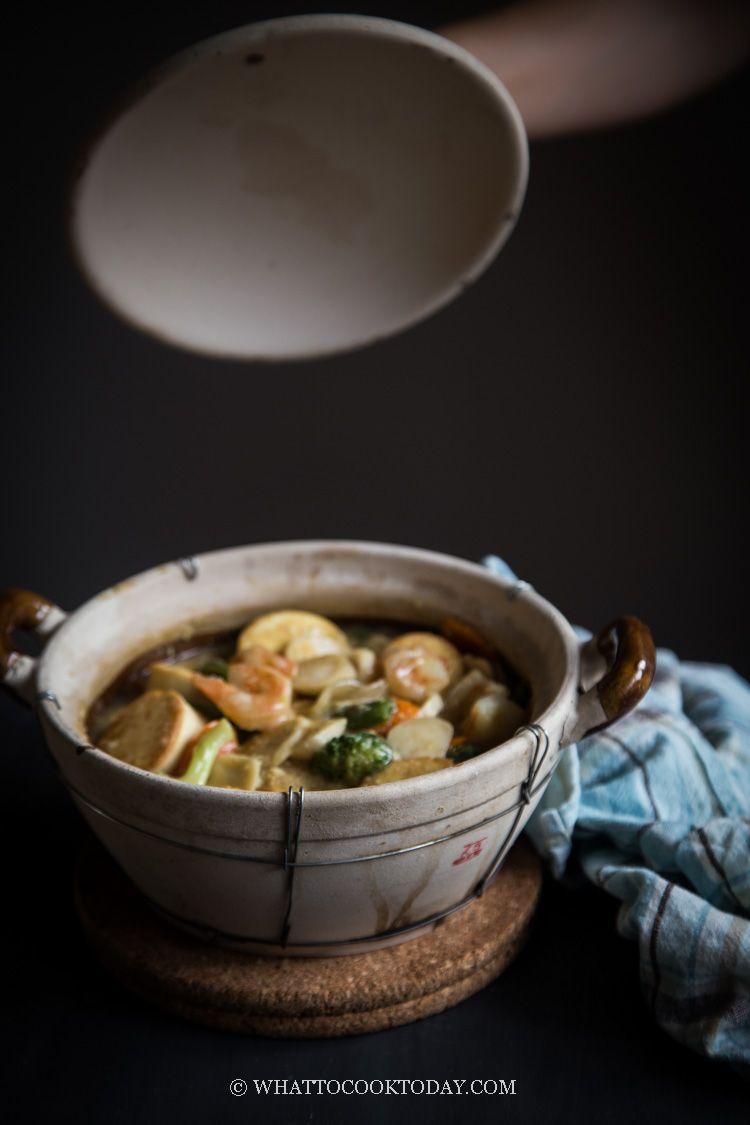 Sapo Tahu Seafood Resep