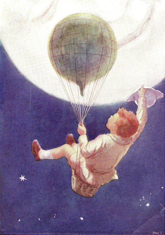 The Old Man in the Moon :: Margaret Tarrant -1920