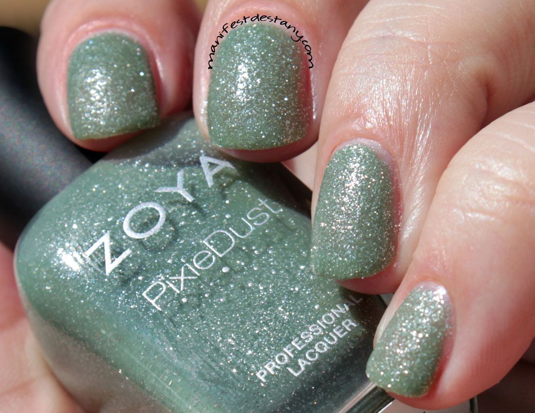 Zoya PixieDust in Godiva swatches+review - Confessions of