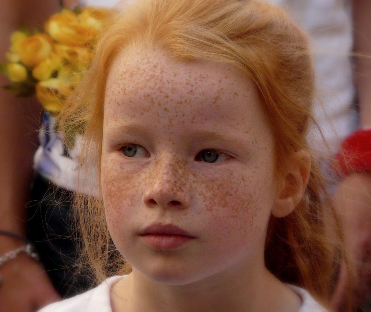 Chubby freckles yvonne