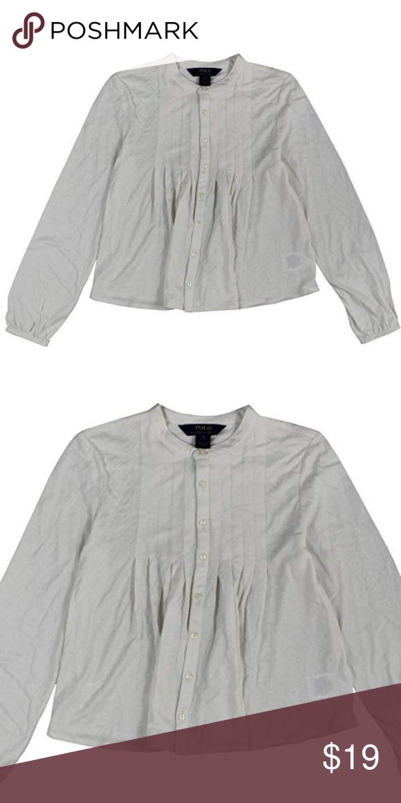 Ralph Lauren Girls Boho Long Sleeve Top Shirt