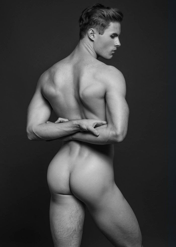 Beautiful gay butt