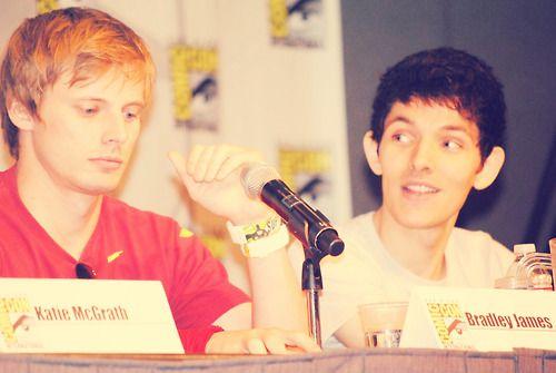 Bradley and Colin  via Tumblr