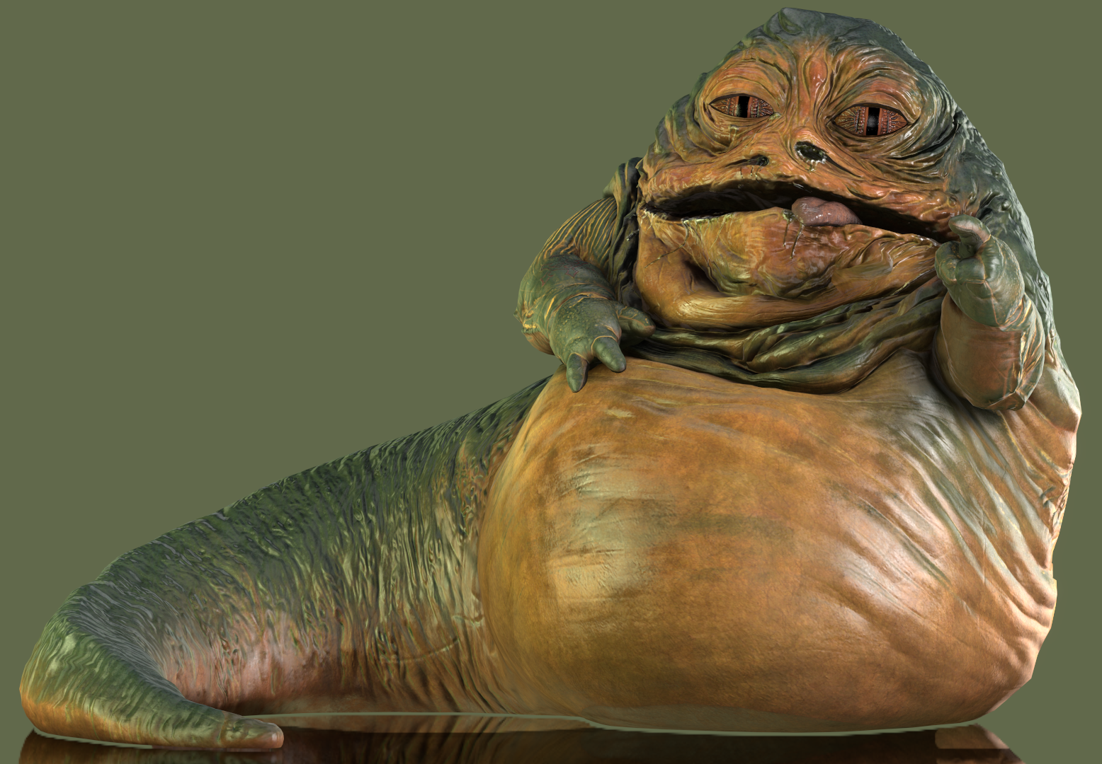 Jabba The Hutt By Yare Yare Dong Jabba The Hutt The Hutt Lion Sculpture