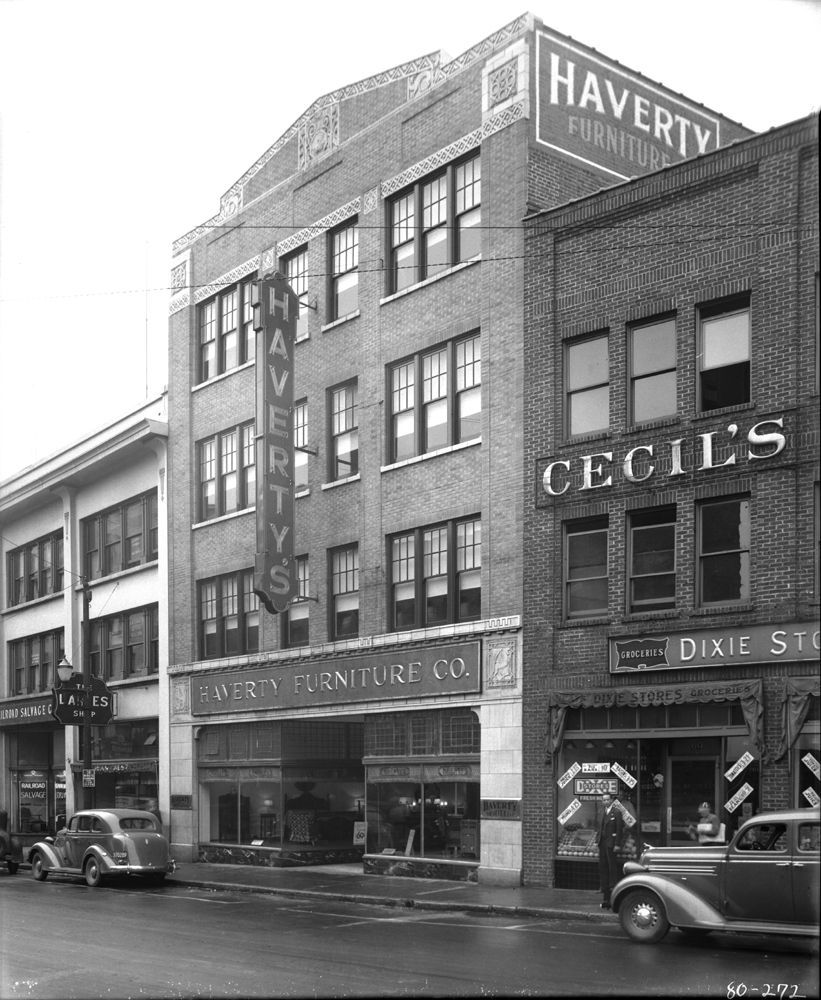 Apartments Asheville Nc: Haverty's Furniture Company. This Building (60 Haywood St