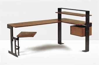 Bureau Bois Et Metal Pierre Chareau France 1927 With Images Interior Furniture Furniture Design Furniture