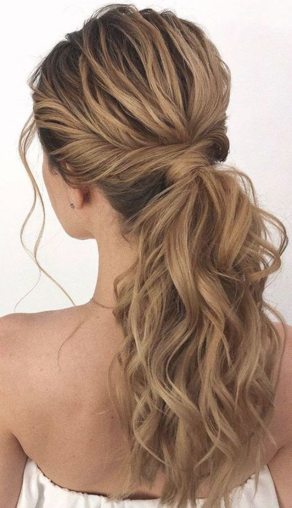 53 Best Ponytail Hairstyles { Low and High Ponytails } To Inspire , hairstyles #weddinghair #ponytai