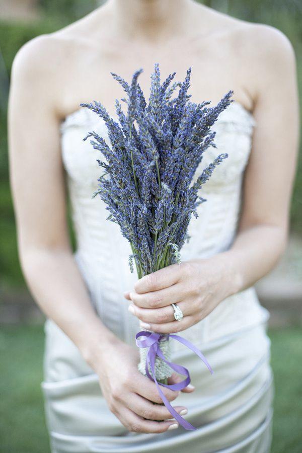 Top 20 Unique Wedding Bouquets with Single Flower Ideas | Lavender ...