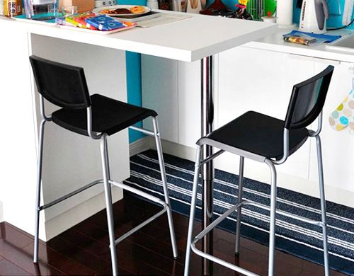 Prime Stig Bar Stool With Backrest Black Silver Colour Zoomly Gmtry Best Dining Table And Chair Ideas Images Gmtryco