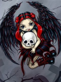 Gothic Fairy Wallpaper