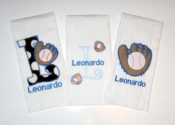 Personalized burp cloth custom made baseball by lovablekreations personalized burp cloth custom made baseball by lovablekreations 899 sport burp cloth gift set negle Images