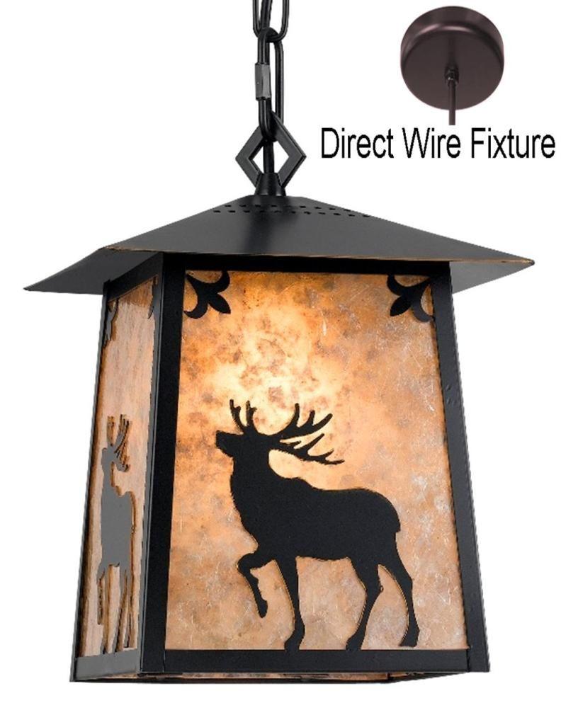 Elk Deer Mica Pendant Light 9.5 W  sc 1 st  Pinterest & Elk Deer Mica Pendant Light 9.5