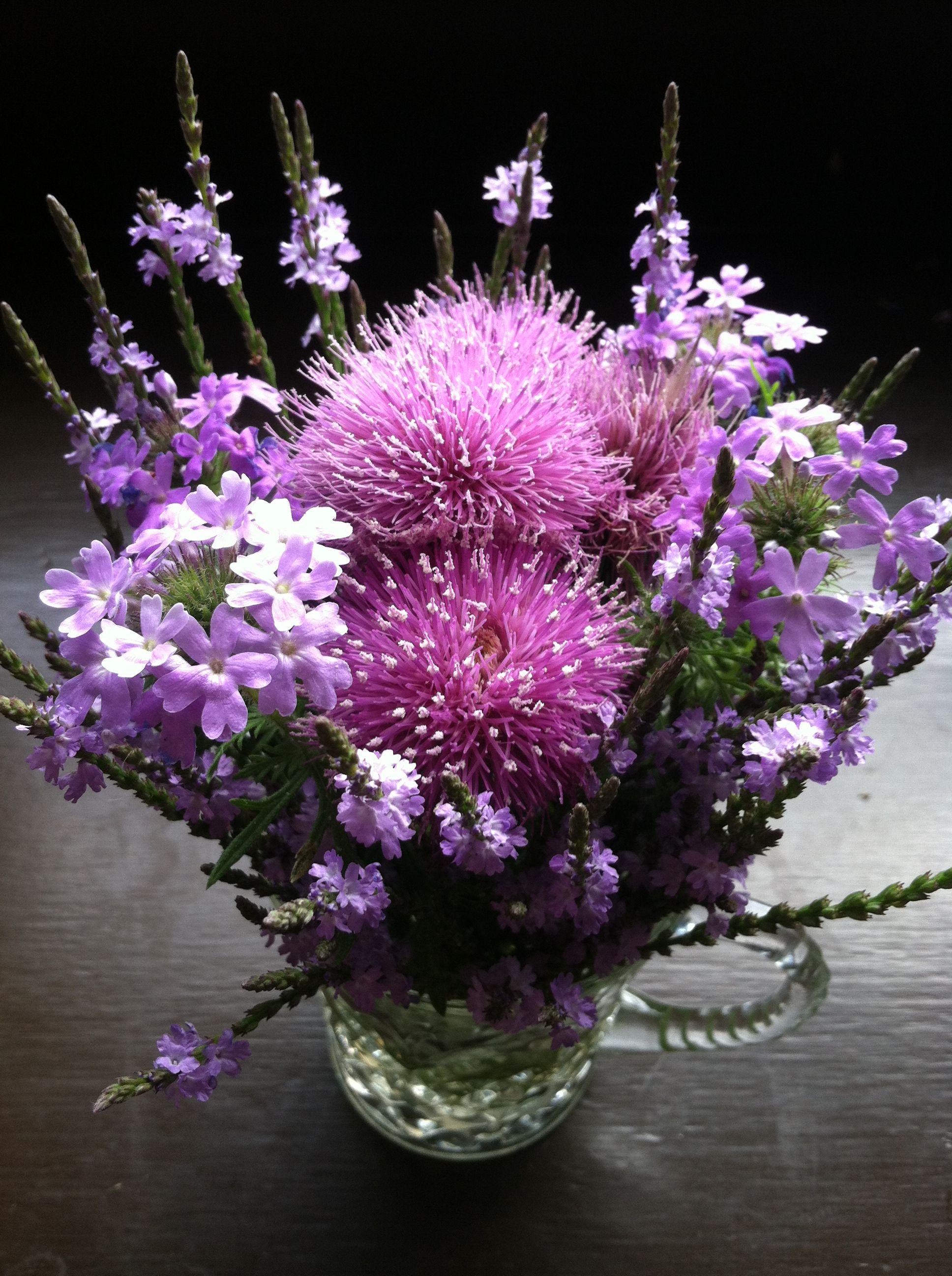 Wildflower Bouquet - Lilac Wildflower Bouquet - Passionate Purple -