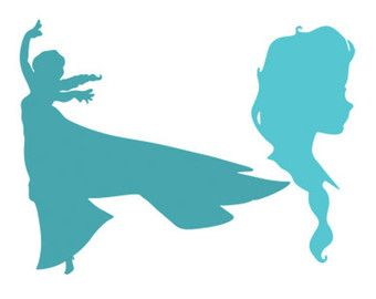 Elsa Frozen Svg Dxf File Instant Download Silhouette Cameo