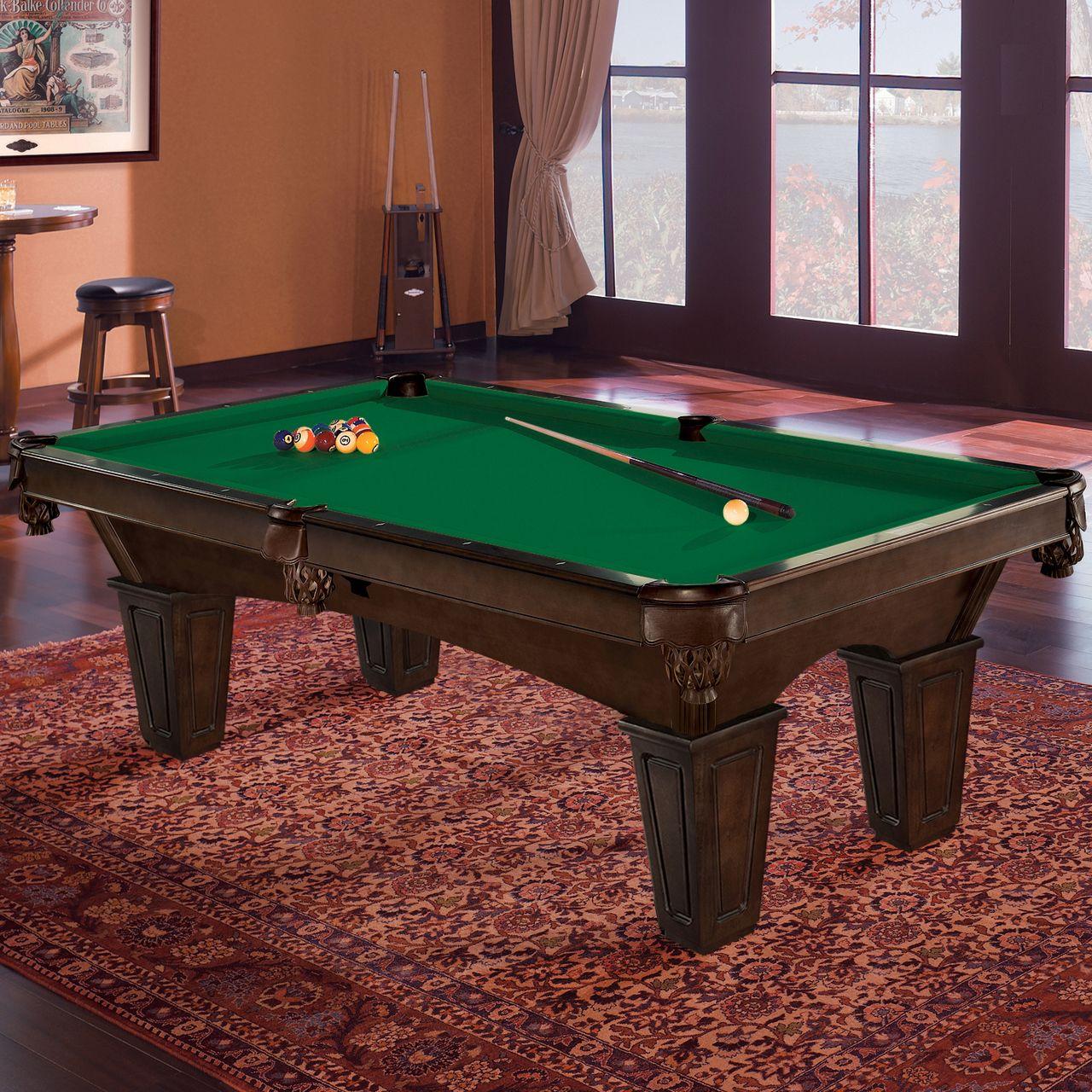 The Brunswick Glen Oaks billiard table embodies all the