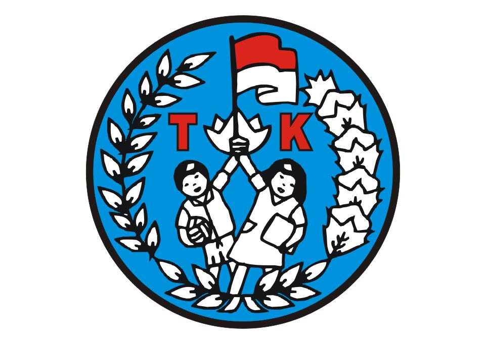 Logo TK (Taman KanakKanak) Vector Free Logo Vector