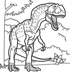 Giganotosaurus Coloring Pages Dinosaurs Pictures And Facts Dinosaur Coloring Pages Dinosaur Coloring Dinosaur Pictures