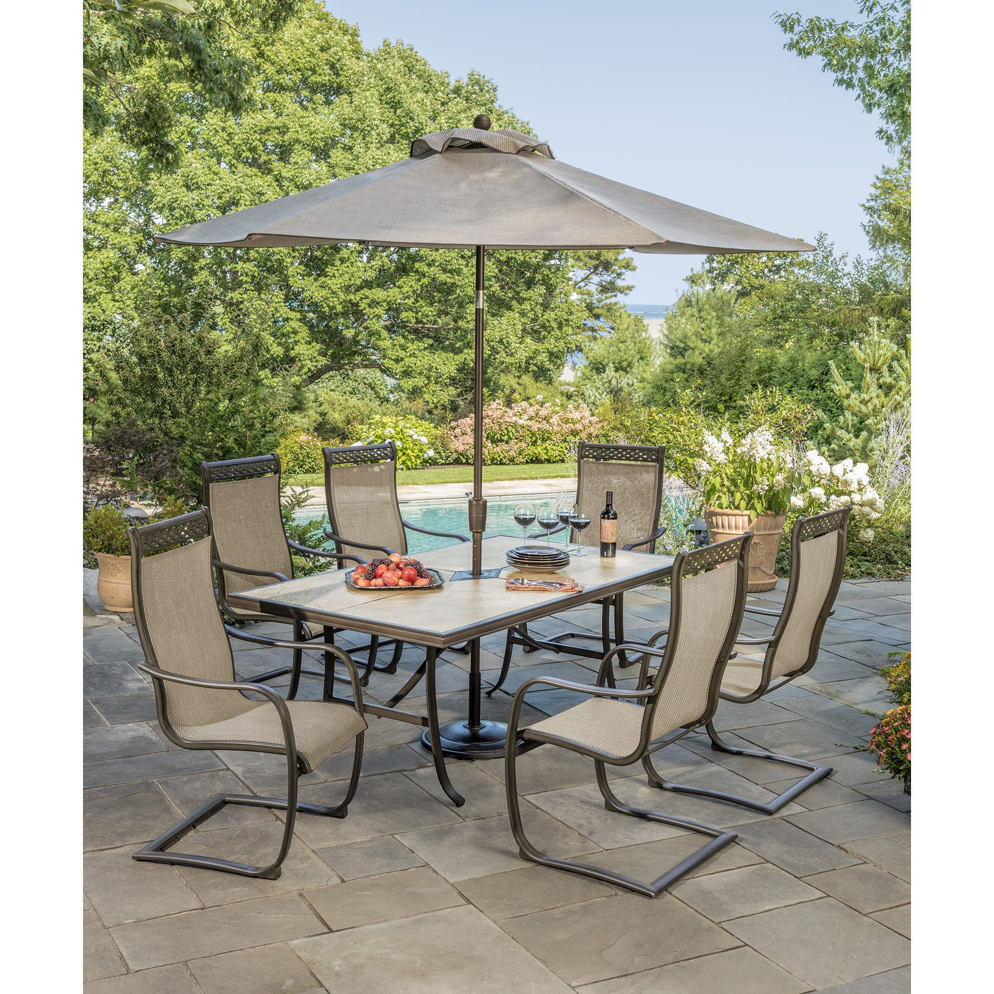 Berkley Jensen Trevi 7 Pc Patio Set