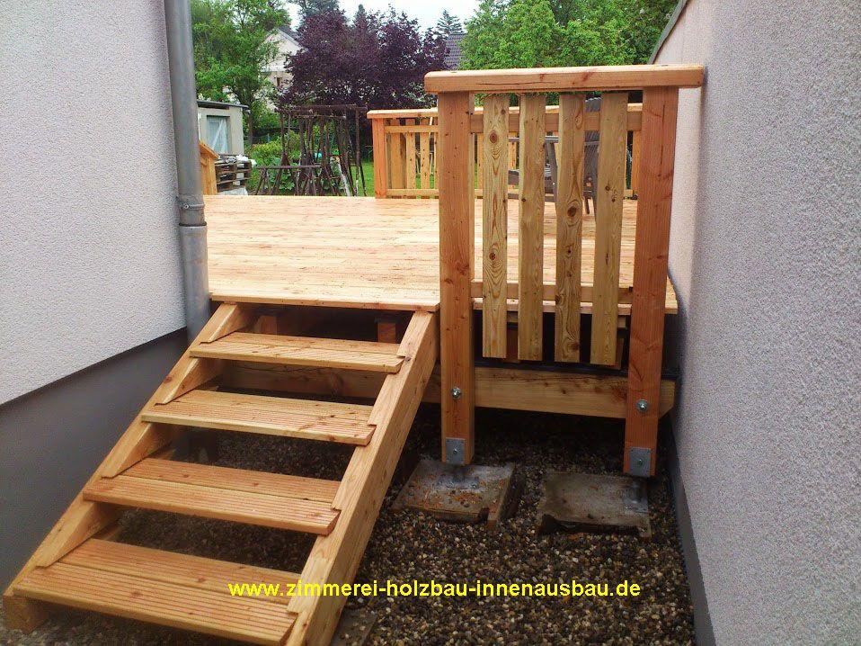 Holzterrassen, Terrassenbelag Aus Douglasie, Lärche, Bankirai | Zimmerei  Holzbau NUR HOLZ Partner
