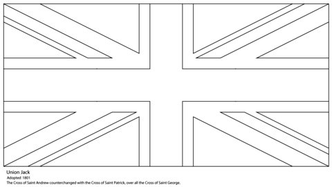 Union Jack Coloring Page Coloring Pages Flag Coloring Pages Printable Coloring Pages