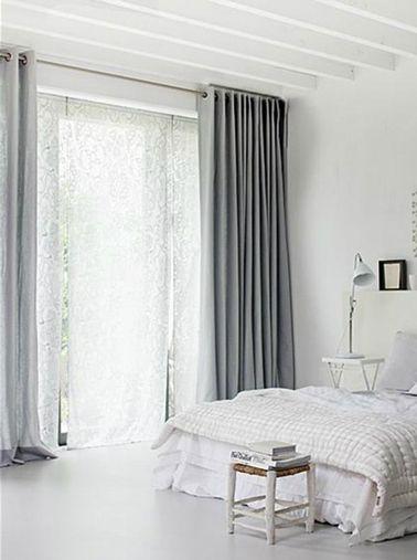 Chambre grise et blanc ou beige 10 idées déco pour choisir | Deco ...