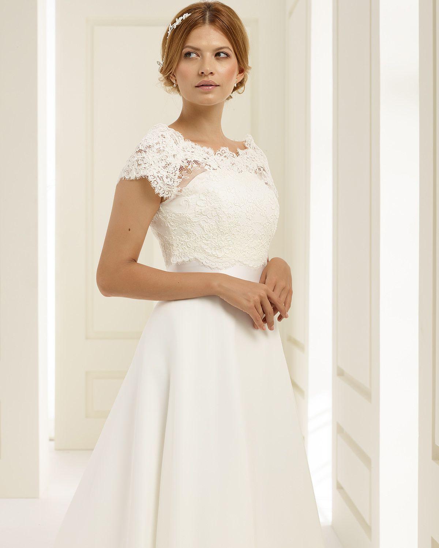 PEONIA dress from Bianco Evento | short bridal dresses | Pinterest