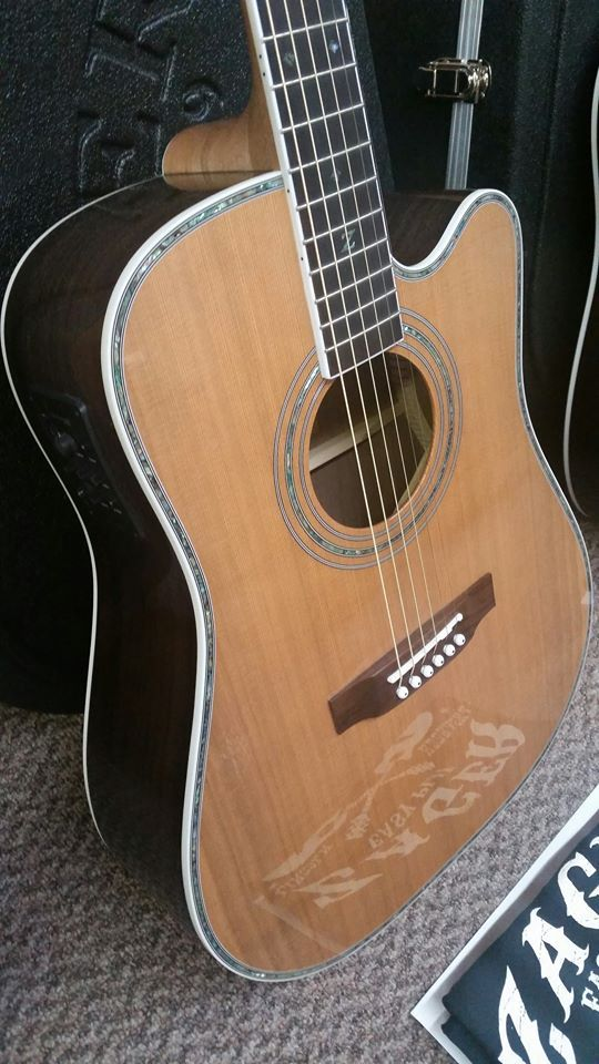 Zager Zad80ce Acoustic Electric Guitar Acoustic Electric Guitar Guitar Acoustic Electric